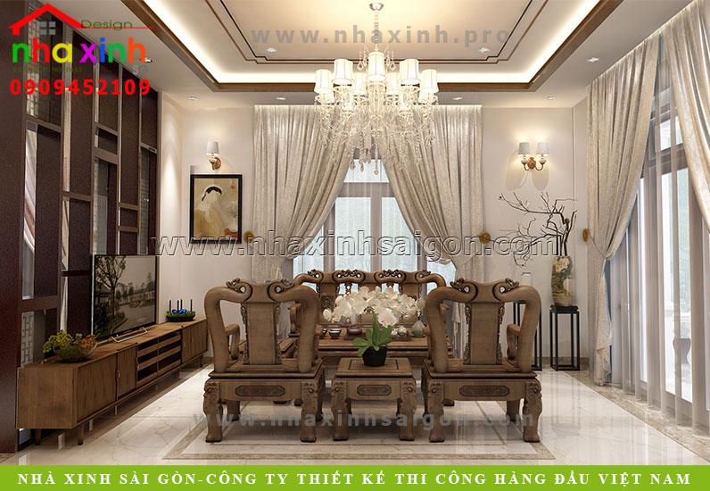 Nội Thất Biệt Thự Tân Cổ Điển Đẹp | Ông Mạnh | NT-114