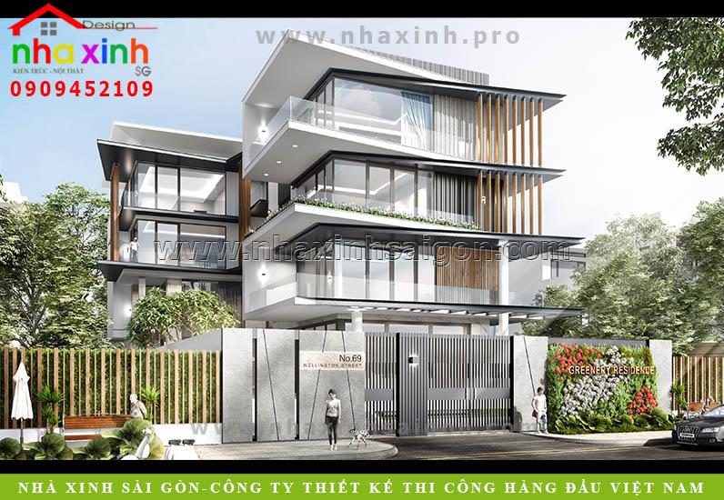 Biệt Thự 3 Tầng Phan Thiết Có Thiết Kế Mở 2019