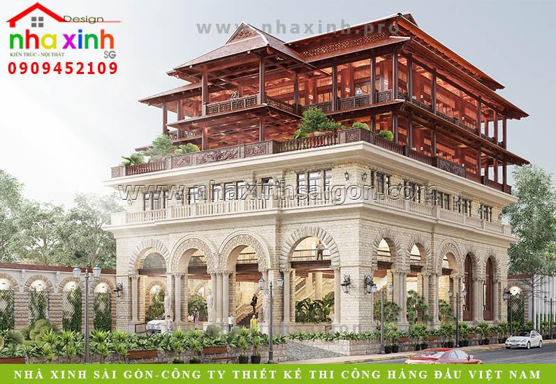 Thiết Kế Dinh Thự Hồ Tràm | Anh Lâm