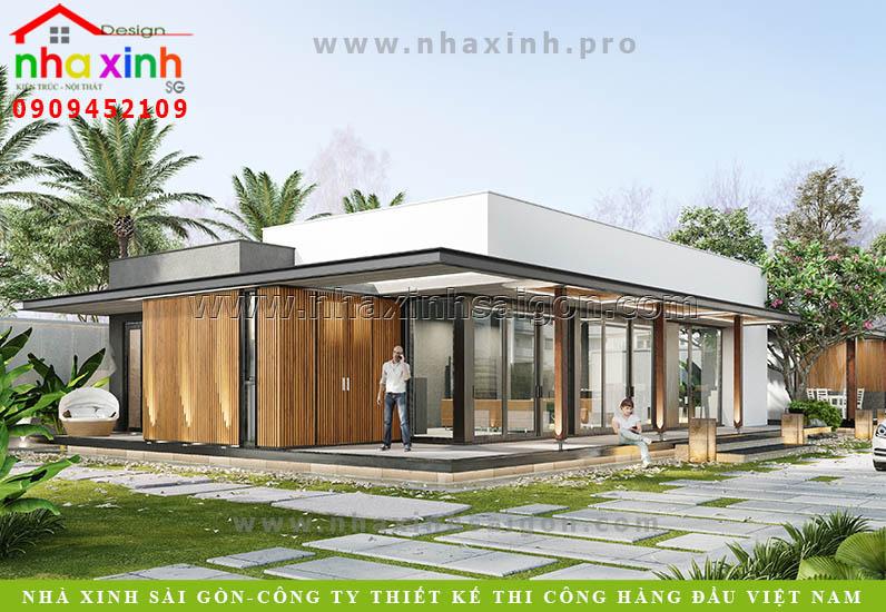 Thiết Kế Villa Sân Vườn Cao Cấp | Cô Thảo | Quận 2