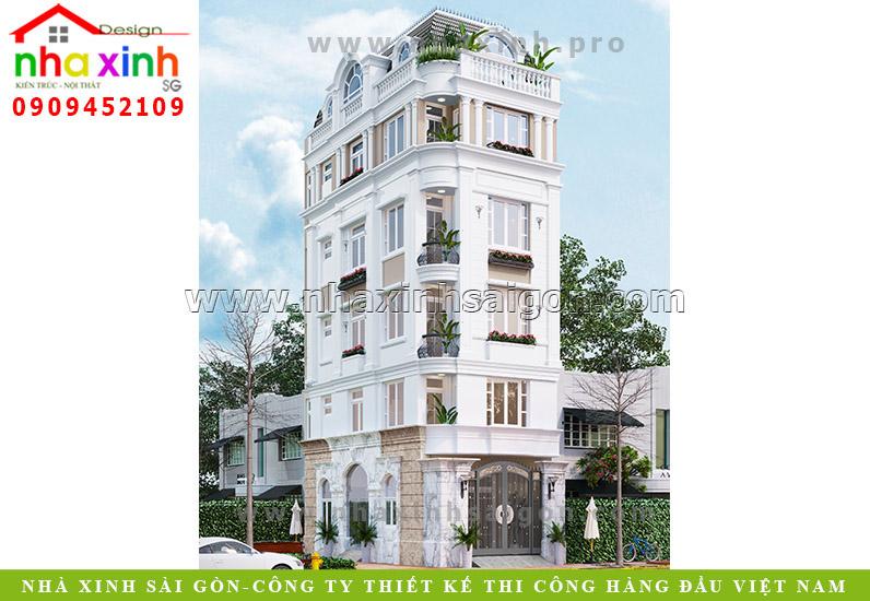 Nhà Phố Mặt Tiền 5 Tầng Đẹp | Chị Trang | Quận 10