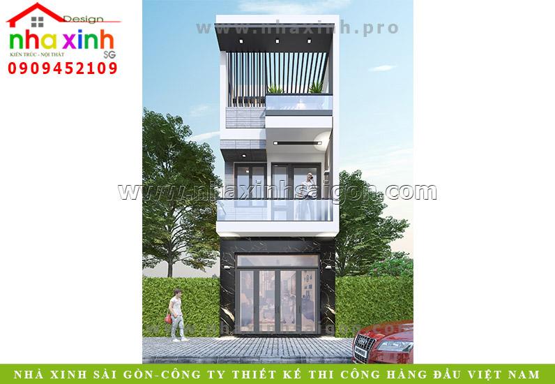 Nhà Phố Đẹp 2 Tầng Có Sân Thượng | Anh Thanh | Biên Hòa