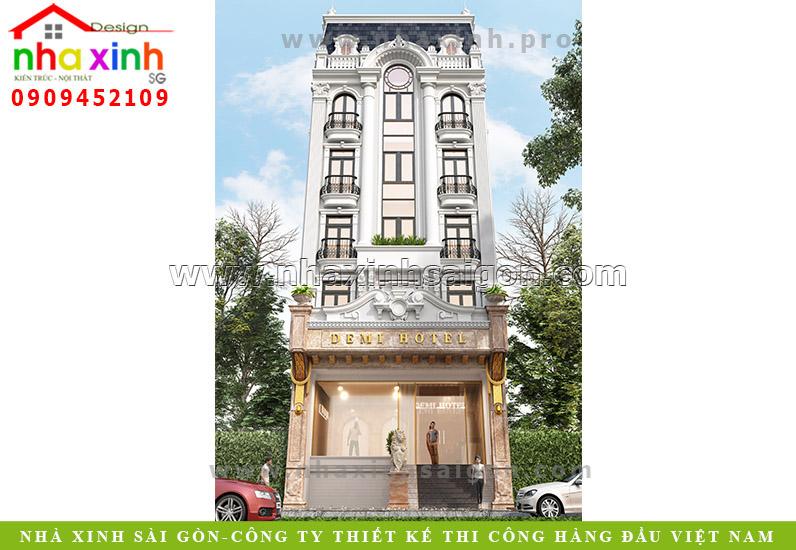 Thiết Kế Khách Sạn | Demi Hotel | Bùi Thị Xuân Đà Lạt