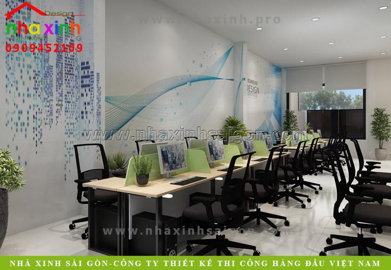 Nội Thất Văn Phòng Đẹp Và Có Điểm Nhấn | Chị Châu | NT-130