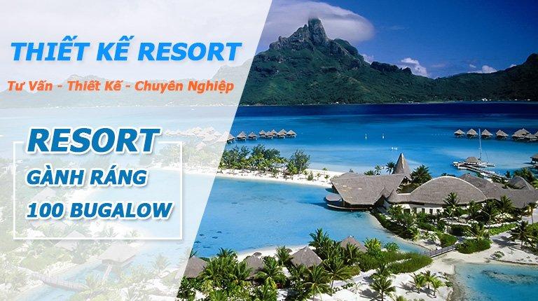 banner thiết kế resort 1