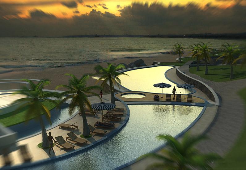 thiet ke ho boi resort 0603