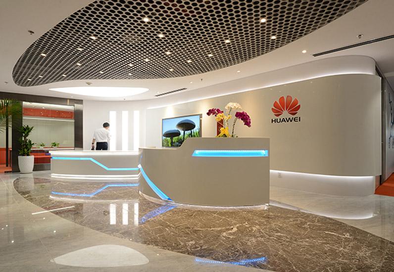 Thiết Kế Văn Phòng Huawei Tại TpHCM