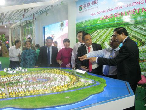 Khai mạc triển lãm BĐS 2015