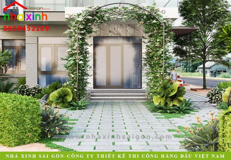 Thiết Kế Biệt Thự Sân Vườn Phú Gia Phú Mỹ Hưng